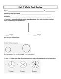 4th Grade Everyday Mathematics / EDM (4) / Math Unit 3 Tes