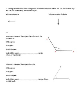 4th Grade Everyday Mathematics / EDM (4) / Math Unit 5 Test Review and Key