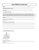4th Grade Everyday Mathematics / EDM (4) / Math Unit 8 Tes