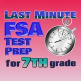 7th Grade Math Florida FSA Printable DISTANCE LEARNING REV