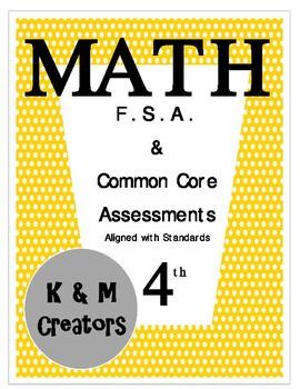 4th Grade FSA Math Assessment- MAFS.4.G.1.3