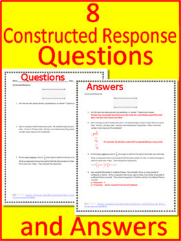 4th Grade FSA Math Test Prep Practice - Florida - Print and Paperless