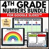 4th Grade Factors & Multiples Google Classroom Distance Learning{4.OA.4, 4.OA.5}