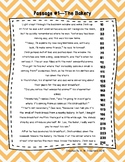 4th Grade Fluency Passages with Comprehension Questions Se
