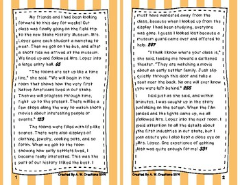 4th Grade Fluency and Retell Books - #11
