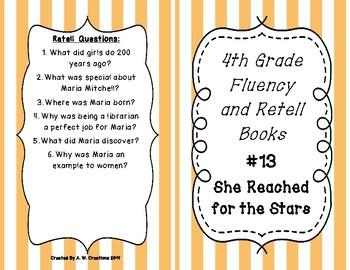 4th Grade Fluency and Retell Books - #13