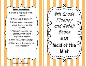4th Grade Fluency and Retell Books - #15