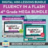 4th Grade Fluency in a Flash MEGA bundle • Digital Mini Lessons