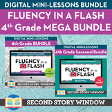 4th Grade Fluency in a Flash MEGA bundle • Digital Mini Lessons