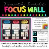 4th Grade Focus Wall Bundle