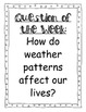 """4th Grade Focus Wall """"Eye of the Storm"""" Reading Street, 2013 CC"""
