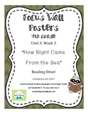 "4th Grade Focus Wall ""How Night Came From the Sea"" Reading Street CC 2013"