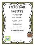 "4th Grade Focus Wall ""Lost City"" Reading Street CC 2013"