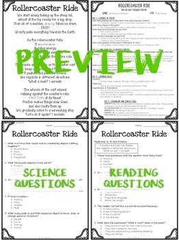 Focused Poetry 4th Grade BUNDLE: Hobbies and Science