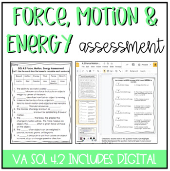 Motion Worksheet Worksheets for all | Download and Share ...