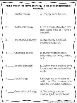 4.2 Force, Motion, Energy Assessment
