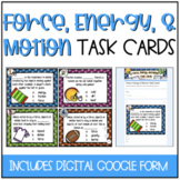 Force, Energy, and Motion Task Cards {Now Includes GOOGLE