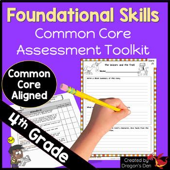 4th Grade Foundational Skills Testing and Documentation Kit