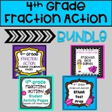 4th Grade Fraction Action Bundle