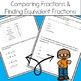 4th Grade Fraction Action Test Prep Practice - Aligned to