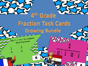 4th Grade Fraction Bundle