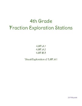 4th Grade Fraction Exploration