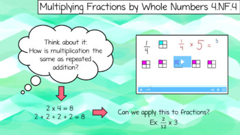 4th Grade Fraction Review PPT