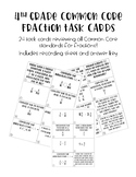 4th Grade Fraction Review Task Cards