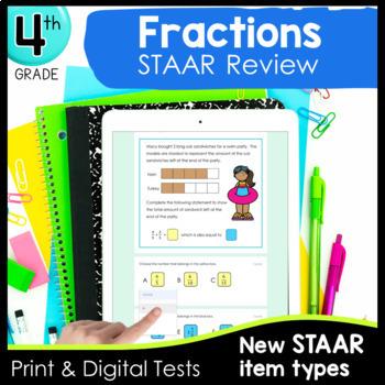 4th Grade Fraction TEKS Formative Assessments