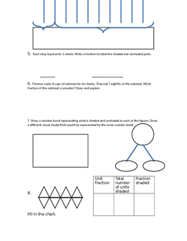 4th Grade Fraction Test EngageNY