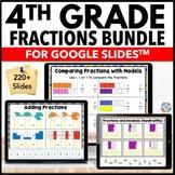 4th Grade Fractions Bundle {4.NF.1, 4.NF.2, 4.NF.3, 4.NF.4