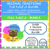 4th Grade Fractions - Complete 4.N.F.5 Bundle (25+ Individual Resources)