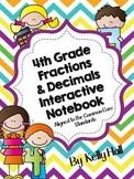 4th Grade  Fractions & Decimals Common Core Notebook