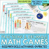 4th Grade Fractions & Decimals Math Games | Hands-On Learn