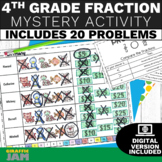 4th Grade Fractions Review Game Activity No Prep With Answer Key