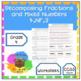 4th Grade Fractions - Worksheet Mini Bundle for 4.NF.3