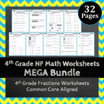 4th Grade Fractions Worksheets 4th Grade Math Worksheets Fractions