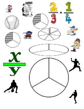 4th Grade Fractions for Baseball Season