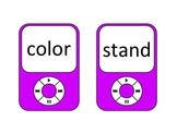 4th Grade Frys 4th 100 Sight Words --Ipod Theme