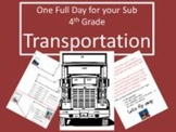 Transportation - Common Core Aligned Full Day For Your Sub