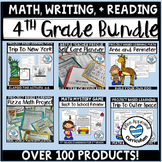 4th Grade Full Year Resource Growing Bundle
