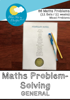 4th Grade General Problem-Solving, 11 Sets of Problems