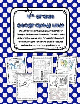 4th Grade Geography Unit