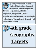 4th Grade Geography Unit! (Ohio's New Learning Standards)