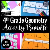 4th Grade Geometry Activity Bundle 4.G