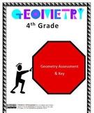 4th Grade Geometry Assessment