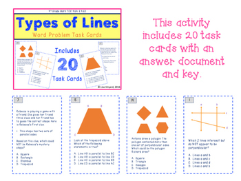 4th Grade Geometry BUNDLE PACK