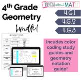 4th Grade Geometry Interactive Notebook Bundle!