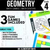 4th Grade Geometry Games and Centers