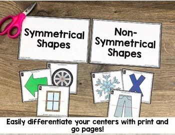 4th Grade Geometry Math Centers